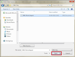 How to open XML File in Excel in Hindi