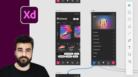 Adobe XD Mega Course - User Experience Design [Free Online Course] - TechCracked