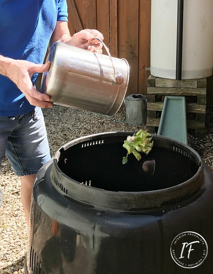 Backyard Garden Composting