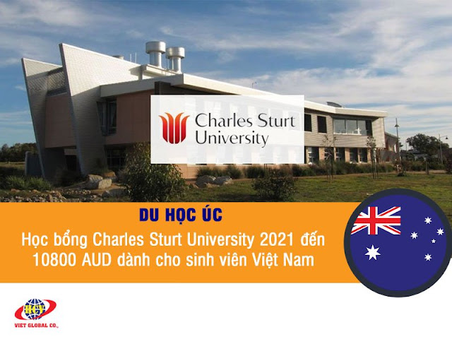Du học Úc: Học bổng Charles Sturt University 2021 đến 10800 AUD dành cho sinh viên Việt Nam