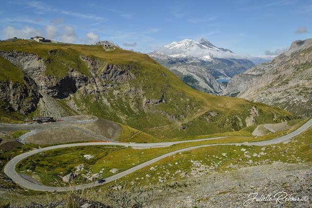 Route de l'Isera à Val d'Isère