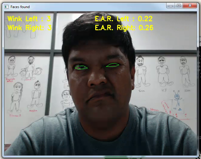 Codes of Interest: Wink Detection using Dlib and OpenCV