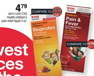 Cvs Health Children's Pain Relief Liquid