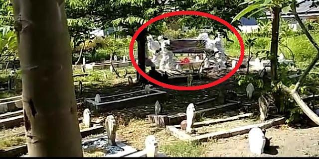Jenazah Warga Surabaya Tertukar saat Hendak Dimakamkan dengan Protokol Covid-19