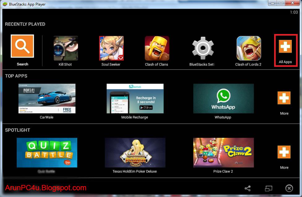 BlueStacks App Player 2.6.108.8112 Offline Setup Download