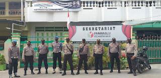 Amankan Tahapan Pilkada, Polres Pelabuhan Patroli di PPS, PPK dan Posko Kemenangan