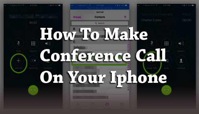 How To Make I-Phone Conference call