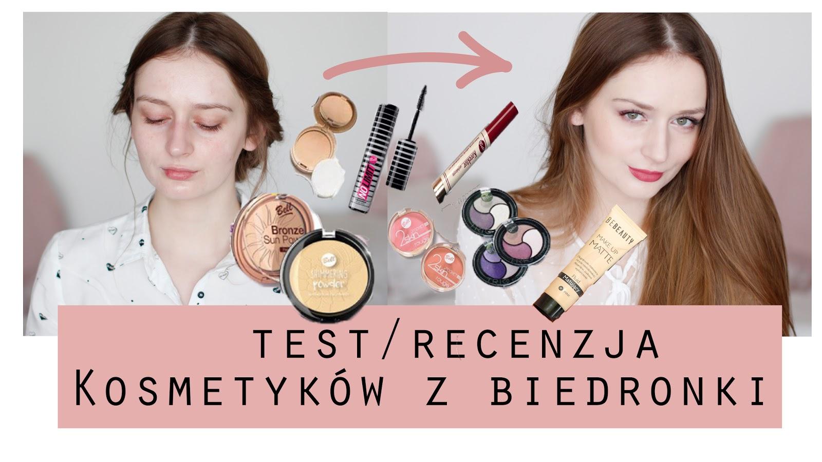 Test kosmetyków z BIEDRONKI