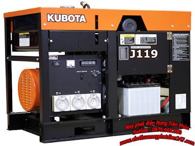 Máy phát điện Kubota 18.8kva J119