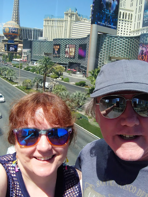 View of the Las Vegas strip
