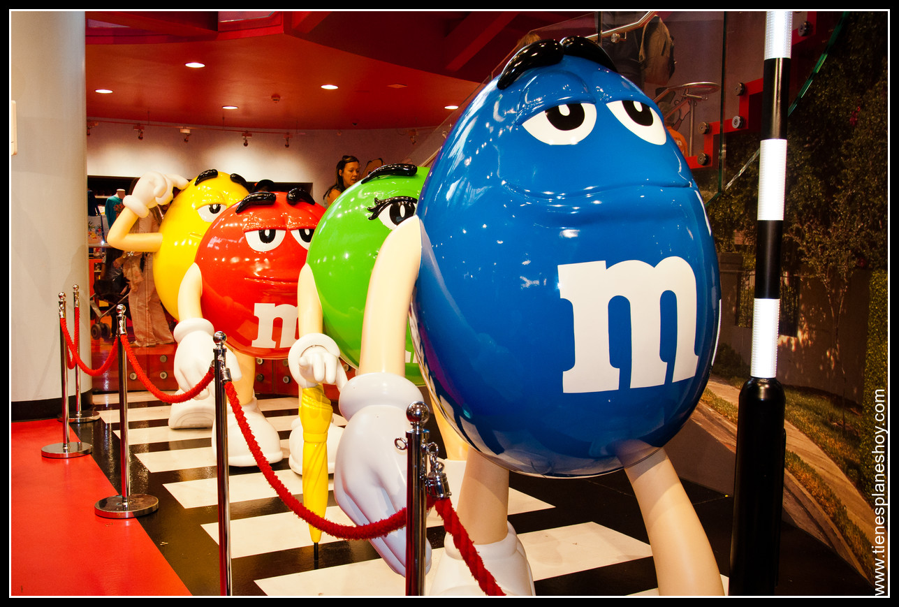 Tienda M&M Londres (London) Inglaterra