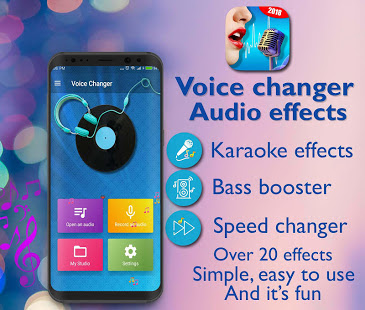 Voice Changer - Best Audio Effects app For Smartphone