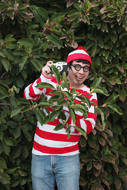 Where's Waldo Halloween Costume Cosplay
