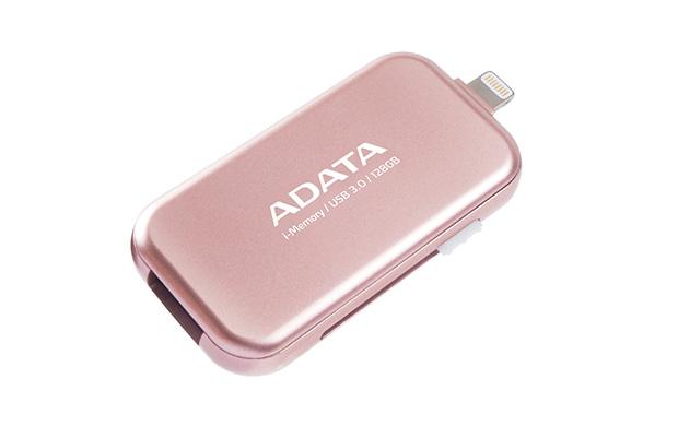 ADATA i-Memory UE710 Rose Gold Apple OTG Flash Drive
