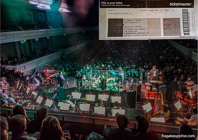 Show de The Mavericks em Nashville