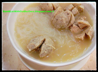 Pork balls in Pork Bone soup, Trusty Gourmet, Wanchai, Hong Kong