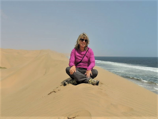 le dune di sandwich harbour in namibia