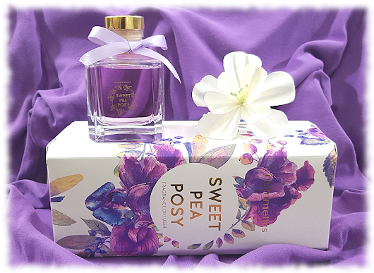 REVIEW & GIVEAWAY: Nutrimetics Sweet Pea Posy Fragrance Diffuser...