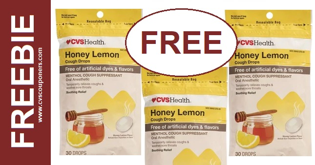 FREE Cough Drops at CVS 1-5-1-11