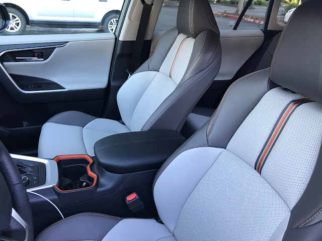 Seats in 2019 Toyota RAV4 Adventure AWD