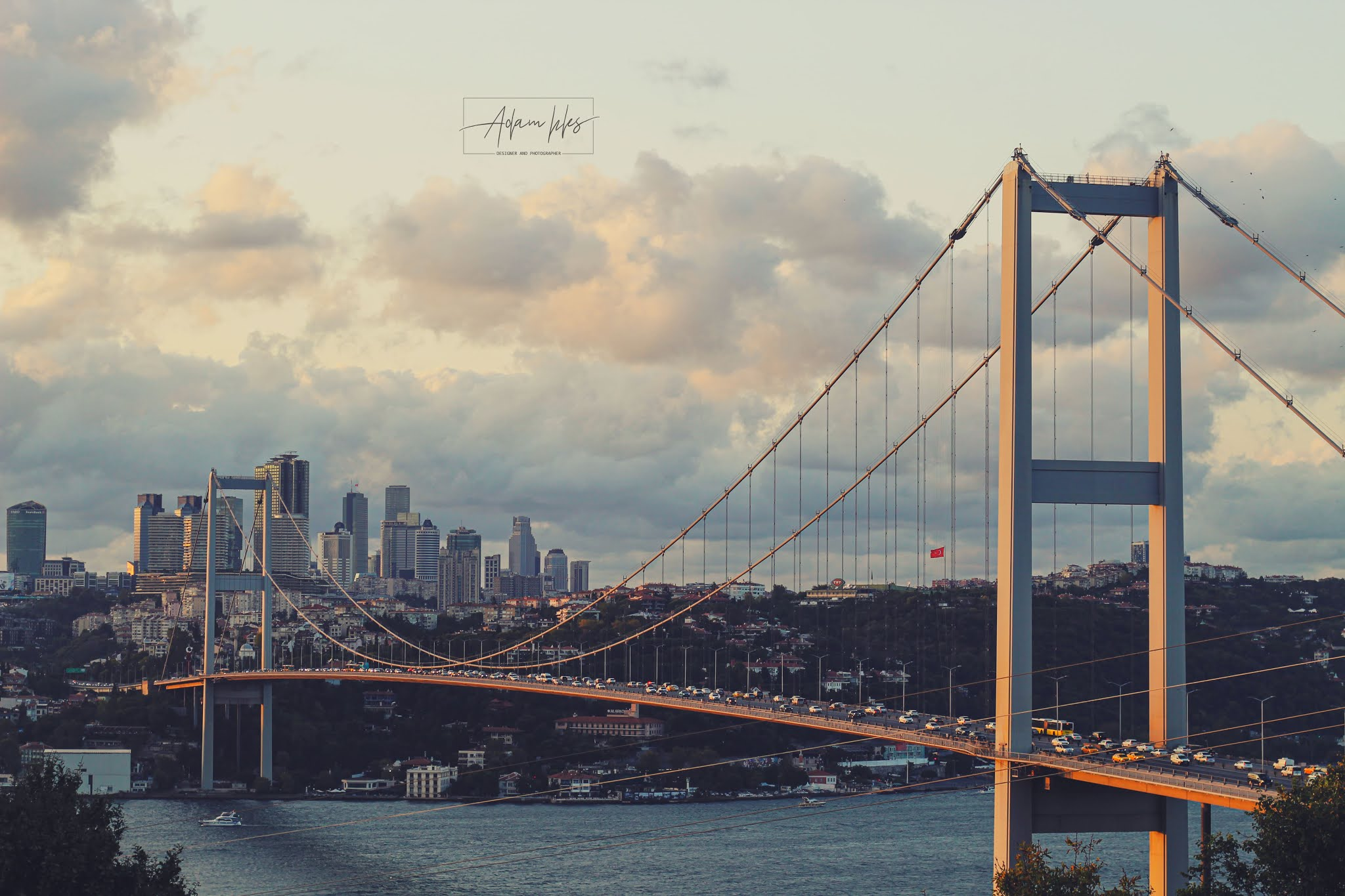 beautiful bridges wallpaper - Turkey 15 Temmuz Bridge Bosphorus