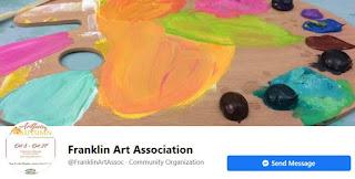 Franklin Art Association:  Virtual Gallery on Facebook