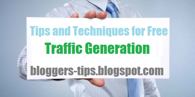how to make traffic on website