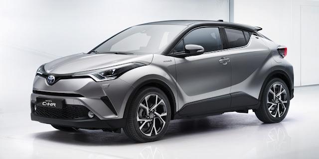 Toyota C-HR crossover