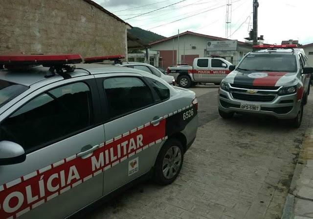 Polícia Militar prende suspeito de violência doméstica que ameaçou a mãe em Araçagi