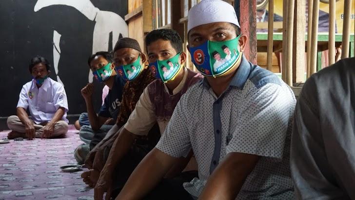 Calon wakil gubernur Jambi Abdullah Sani melanjutkan silaturahmi politiknya di Kabupaten Tanjung Jabung Barat.