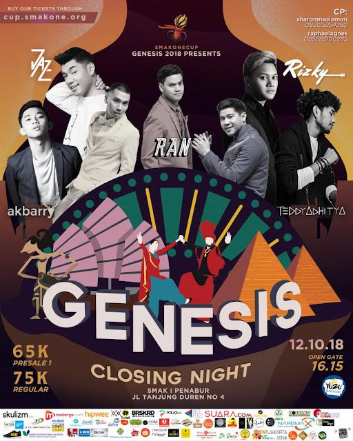 SMAK 1 Penabur - GENESIS 2018