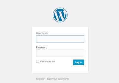 Cara Merubah Halaman Login Admin WordPress | WELCOME TO NOLEP BLOG