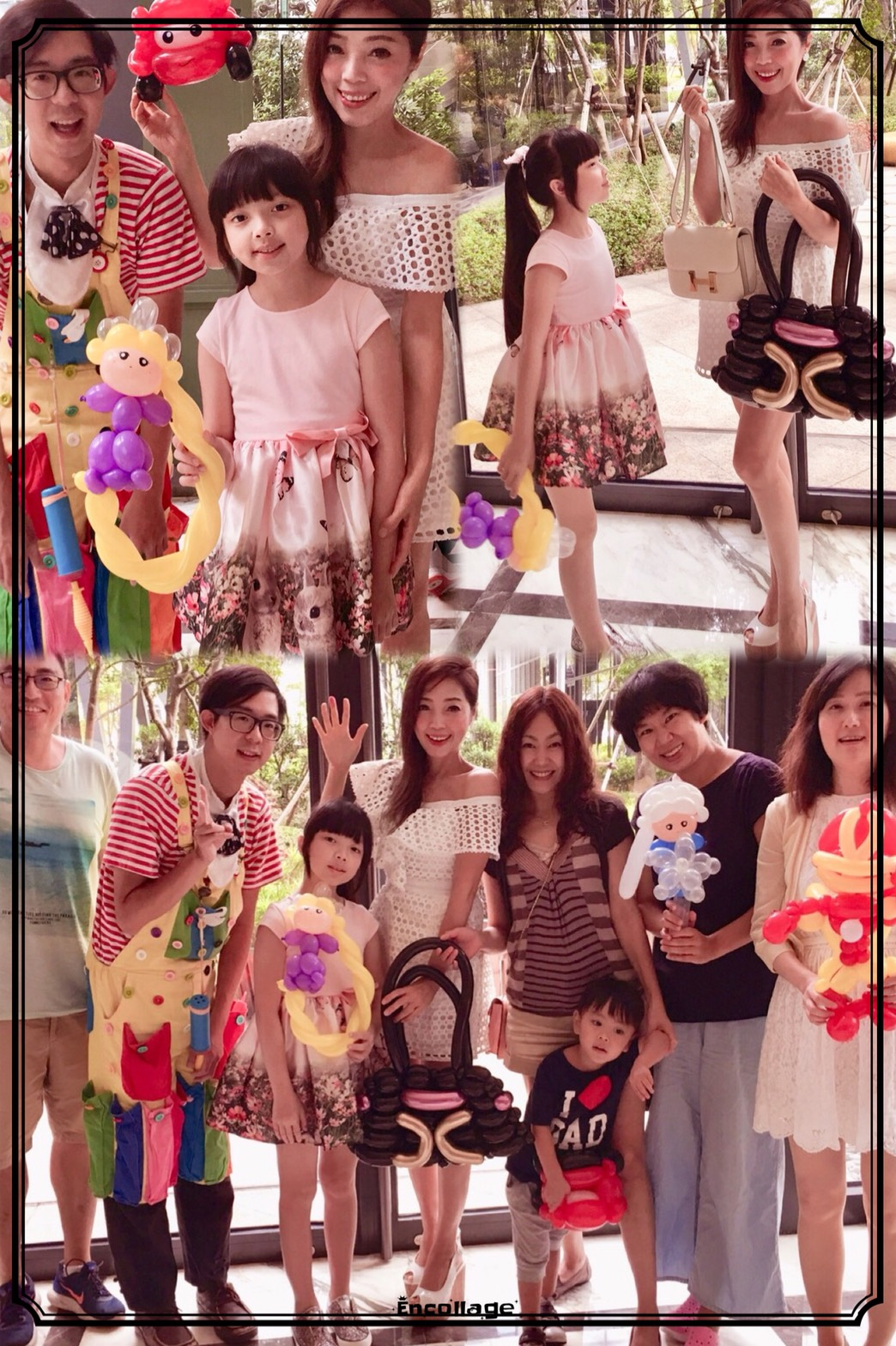 氣球家庭派對