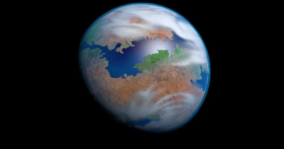 Mandatory Blog: Game Design 1.0: Making Alien Planet Textures