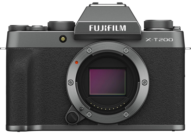 Fujifilm X-T200 темно-серебристого цвета