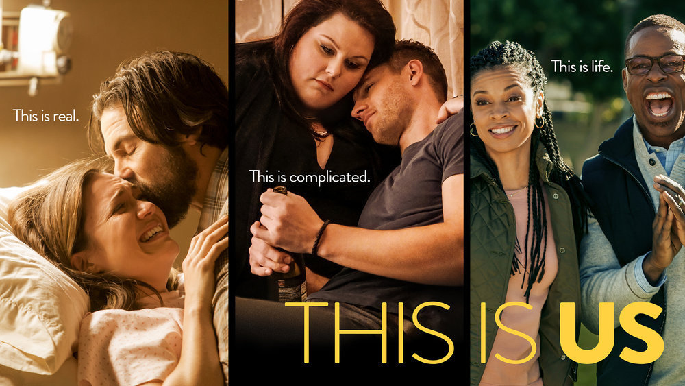 Poster This Is Us Jack Rebecca Kate Kevin Randall Beth