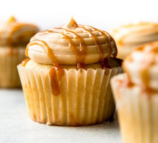 New & Improved Salted Caramel Frosting #desserts #cream