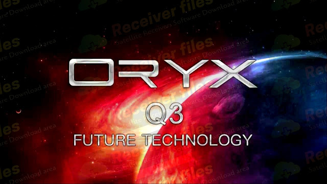 ORYX Q3 1506TV STI1 V11.00.24 BUILT IN WIFI NEW SOFTWARE 25-01-2021