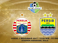 Prediksi Persija vs Persib, Jumat 3 November 2017