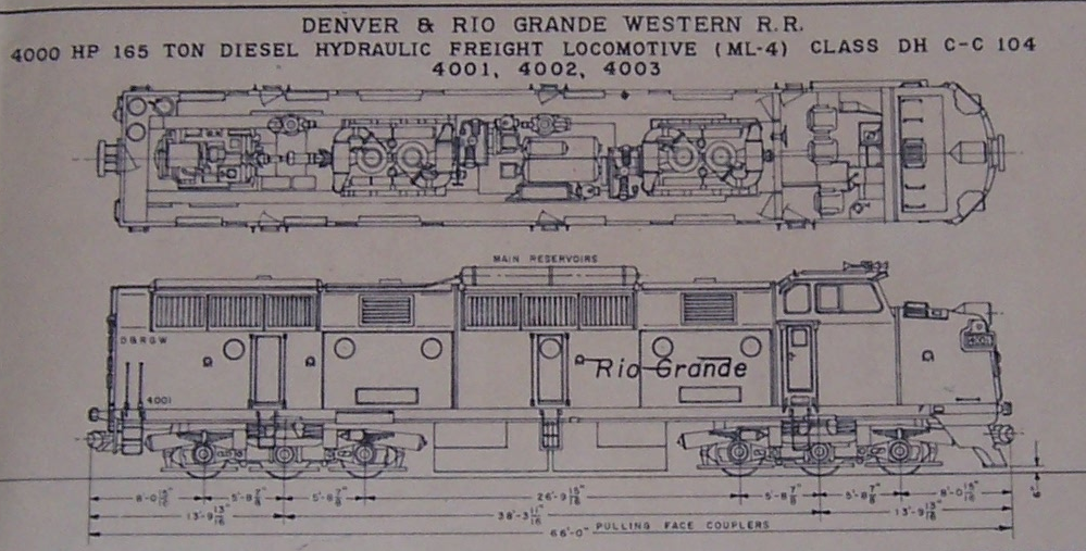 Railroad Locomotives: Krauss-Maffei Diesel-Hydraulic