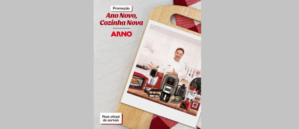 Participar Promoção Arno Natal 2020 Ano Novo 2021 Cozinha Nova Kits de Produtos