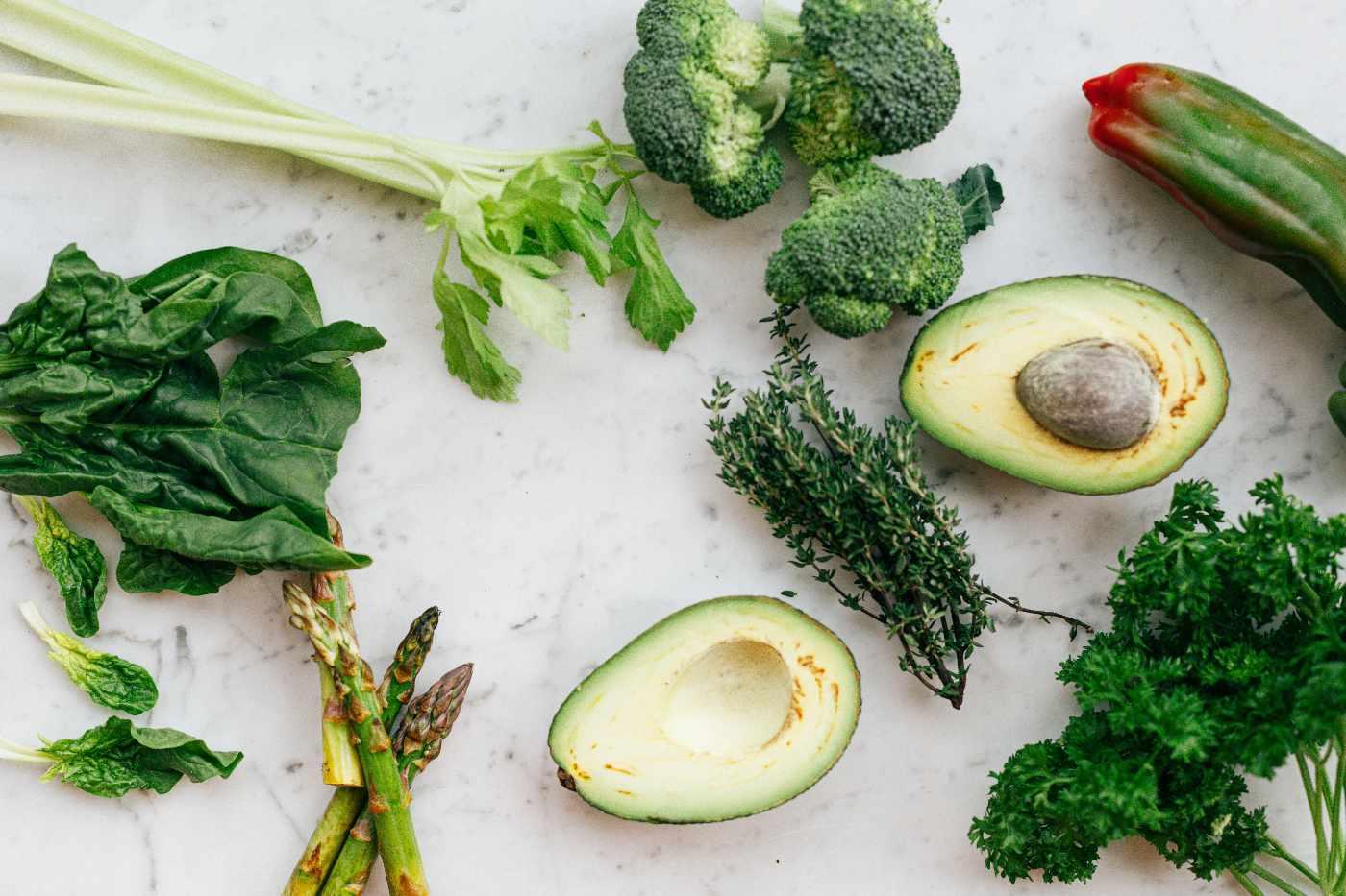 broccoli and greens