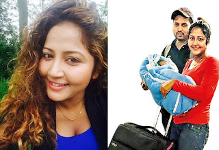 Actress Lochana Imashi blessed with a baby boy!