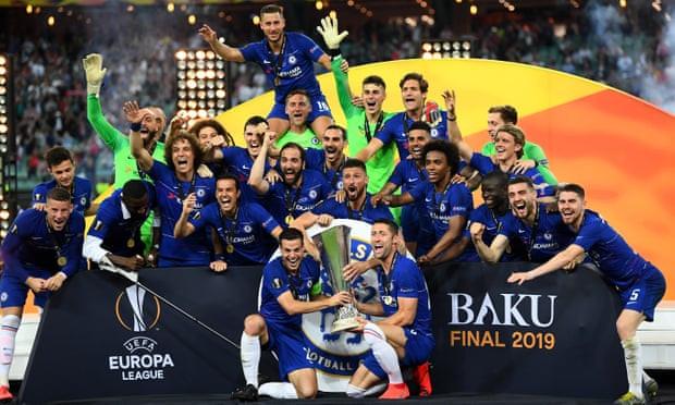 Chelsea thrash helpless Arsenal 4-1 to win Europa League Final
