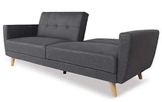 best sofa bed for 2 people gray fabrics
