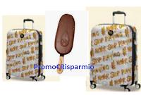 Logo ''Gioca e Vinci il tuo Trolley American Tourister brandizzato Magnum'' : 50 premi in palio