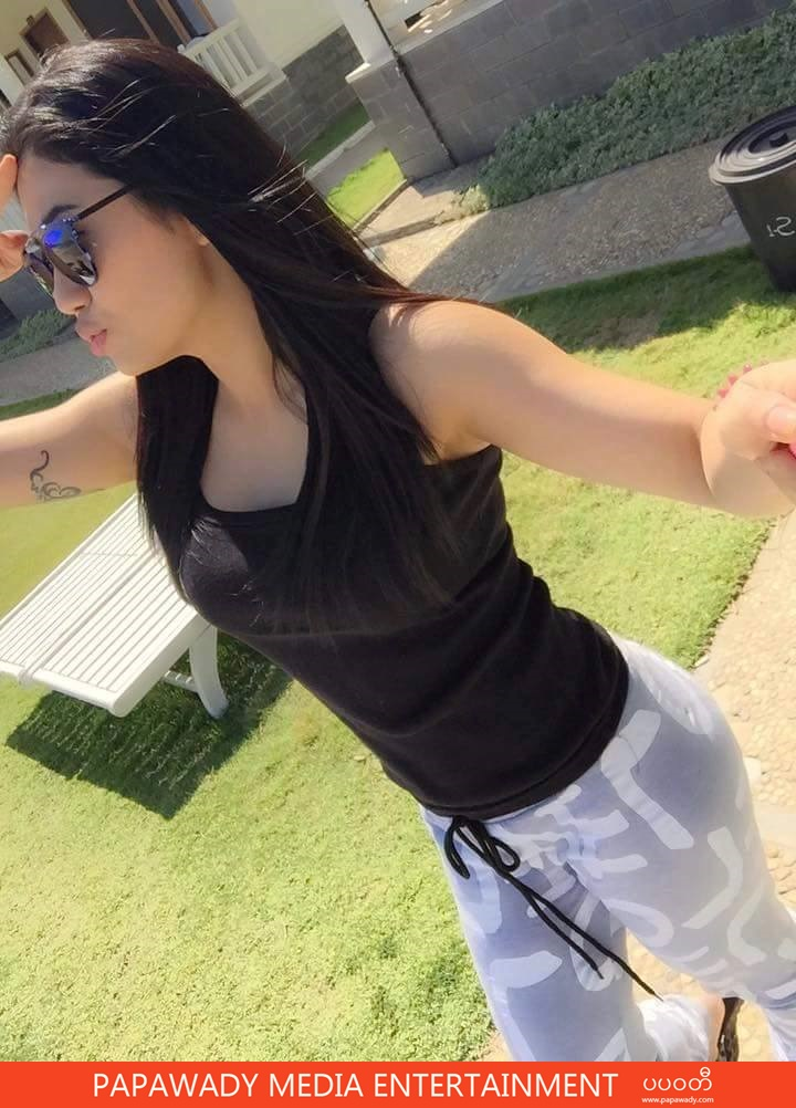 Thinzar Wint Kyaw Fun Vacation With Family At The Beach
