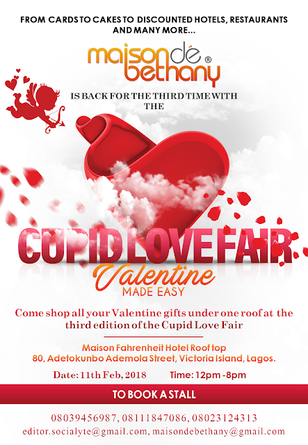 Maison de Bethany is back for the third time with the Cupid Love Fair