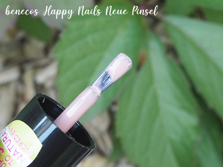 benecos Happy Nails neue Pinselform You-Nique