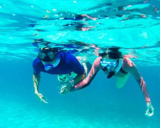 Snorkeling water sport